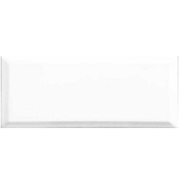 Azulejo-NYork-7.5X15-Biselado-Blanco-Brillante